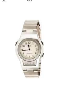 Casio Sheen Analog Digital Stainless Steel Strap Watch