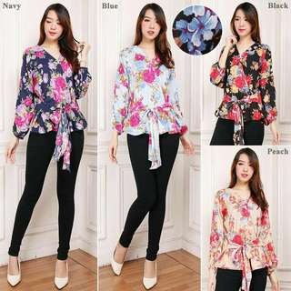 Floral Blouse outfit