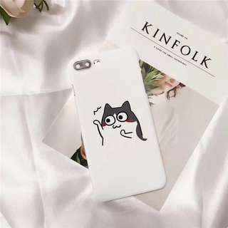 Cute Cat Gray Snap On Case