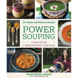 Power Souping 3-Day Detox, 3-Week Weight-Loss Plan (ebook)