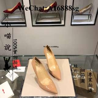 小喵說 Christian Louboutin 克里斯蒂娜·魯布托   光板漆皮系列10.5cm 高跟鞋