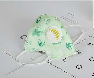 children's folding breathing disposable Dust-proof & Foolproof PM2.5 masks.