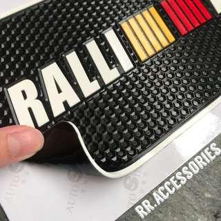 Ralliart anti slip mat