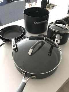 Anolon Pans and Pots