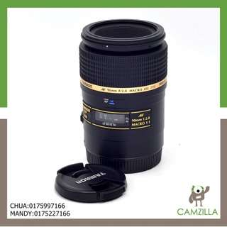 (USED)TAMRON LENS AF 90mm F/2.8 MACRO FOR CANON MOUT *GOOD CONDITION