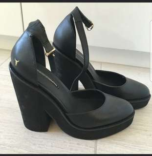 Windsor smith heels POW wedges 7.5