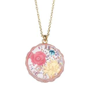 JAPAN DISNEYSTORE, JAPAN IMPORTED:  Necklace Series - Mary CAT DAY 2018 Rose Charm necklace