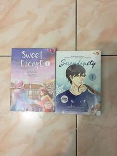 Komik Berwarna Serendipity Sweet Escape