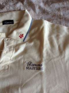 Thommo Masters polo tee