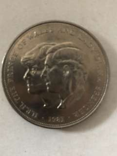 Princess Diana and Prince Charles coin