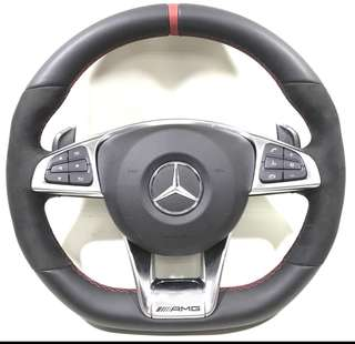 Mercedes AMG steering wheel for A45/CLA45/GLA45