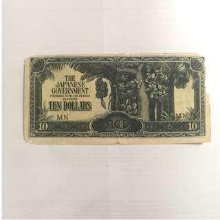 10 Dollars Japan