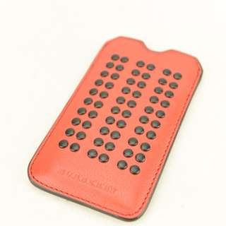 (NEW) Burberry Phone Case / Card Holder (Red)