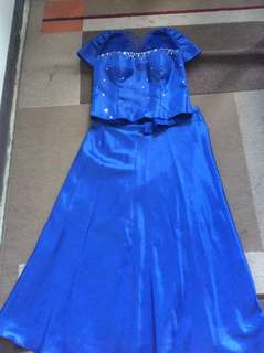 Gown filipiniana