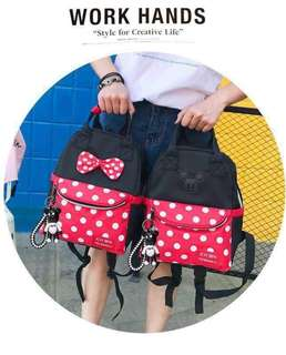 Minnie and Mickey Backpack