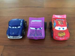 Lightning McQueen Toy Cars (3 cars)