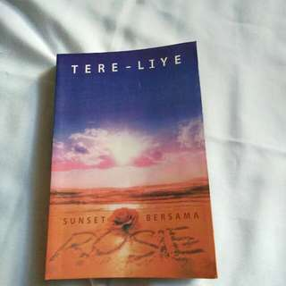 25.000 novel tere liye sunset bersama rosie