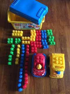 Mega Bloks First Builders (Age 1 - 5)