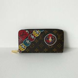 Authentic Louis Vuitton Kabuki Zippy Wallet