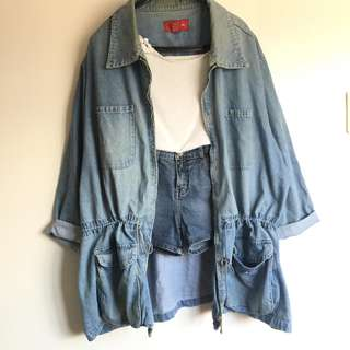 SALE! Denim Parka