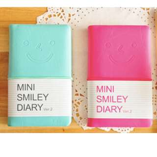 Mini Smiley Diary / Note book