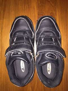 Black Track Shoes