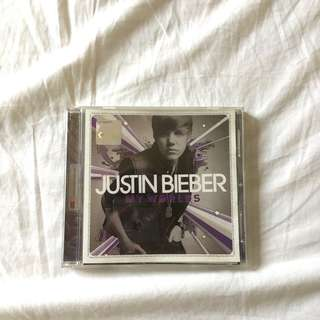 JUSTIN BIEBER MY WORLDS ALBUM