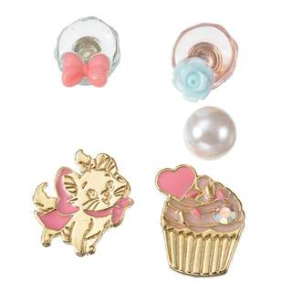 JAPAN DISNEYSTORE, JAPAN IMPORTED: Earring series -  Mary CAT DAY 2018 series 5 pc Earring Set