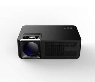 Smart LCD Projector - 3000 Lumen, 1080p Support, 1.3 - 5m Throw Distance, 120-Inch Image Size, 80W LCD Light, Dual 3W Speakers (CVAIA-E883)