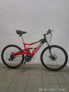 Haro Extreme X2 full suspension downhill Bike