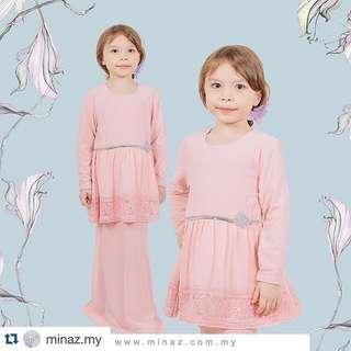 MINAZ Isabelle Lacey Kids Dress