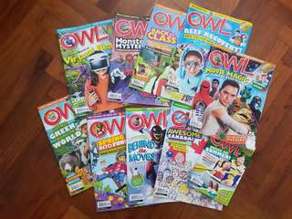 OWL Magazines May 2017 to Apr 2018 issues