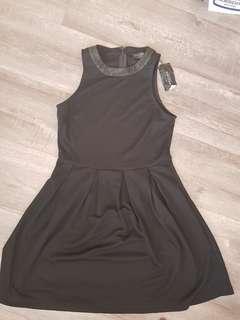 Black dress zalora brand small
