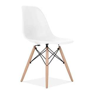 White Eames Chair OC-09A