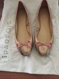 Parfois Rose Gold Shoes