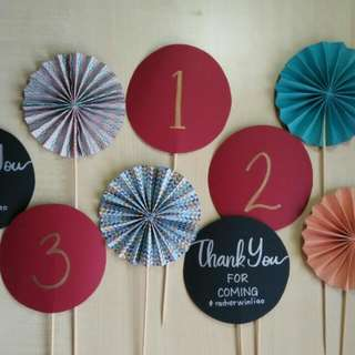 Cake Topper / Decorative Topper