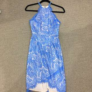 Portmans Lace Halter Dress Size 6