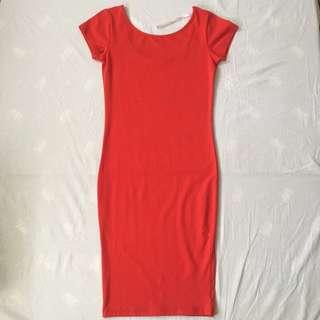 Supre Red Bodycon Dress