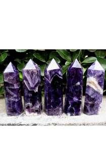 PO Amethyst Crystal Wand