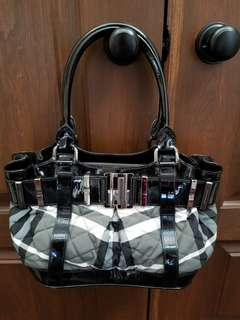 Burberry Patterned Hand Bag