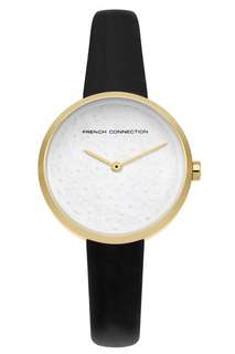French connection flower dial watch