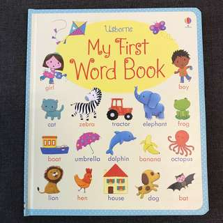 Usborne My First Word Book