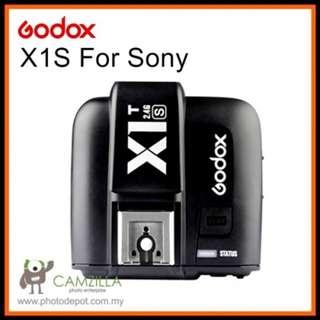 Godox X1S 2.4G TTL Wireless Flash Transmitter for Sony MI shoe X1T-S Trasmitter