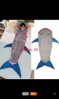 Shark Blanket / Fleece / Sleeping Bag / Camping / Little Girls Dream / Warm / Aircon / Cold / Winter