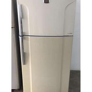 Toshiba 2Door Fridge Peti Ais Refrigerator Recond