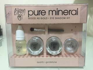 Bloom Pure Mineral Eye Shadow Kit Good As Gold