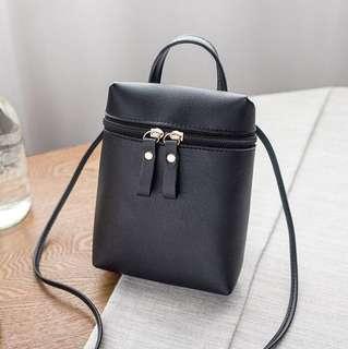 Korean Fashion Small Sling Bag (Black)