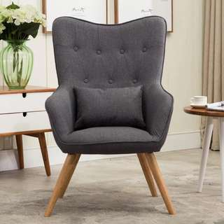 Accent Chair OS-09B Brown