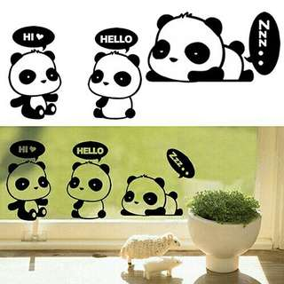 Cute Panda Sticker