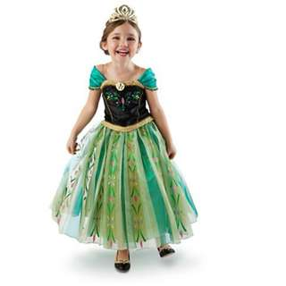 Disney Frozen Anna Princess Costume Elsa Anna Accessory Set